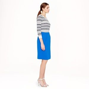 Awesome asymmetrical pencil skirt from j crew!